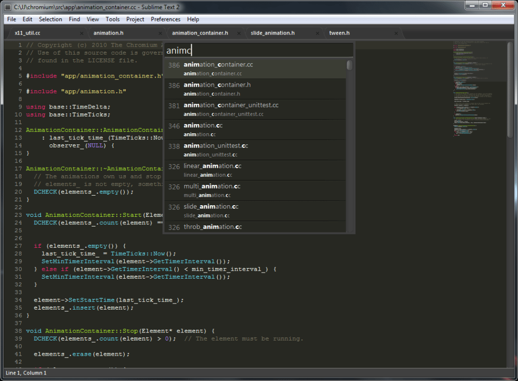 Sublime Text y Stino