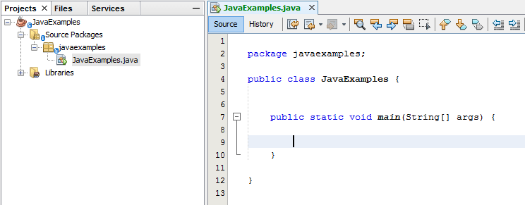 Classes in Java