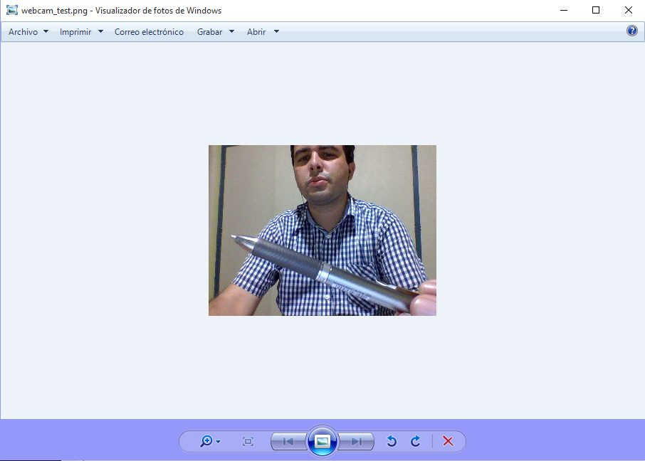 visualizar webcam en un panel